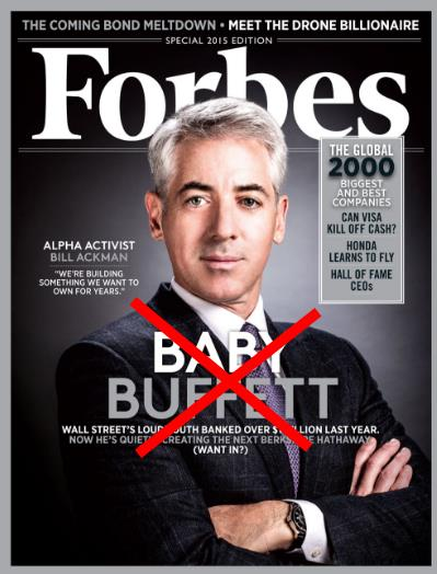 Bill Ackman Finally Pukes Beware Of False Narratives